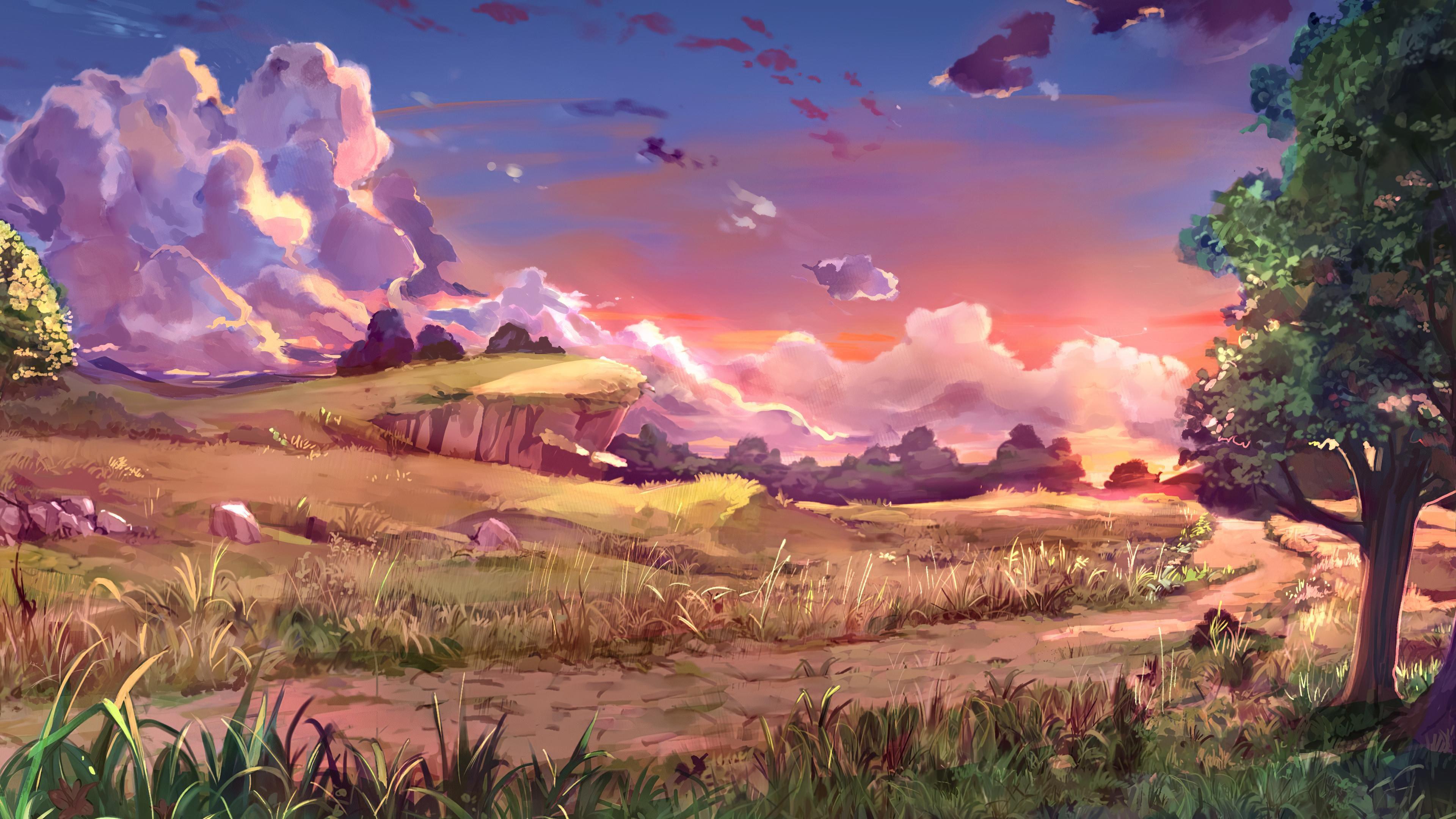 Crystalline (2018) Background Art [3840x2160] in 2020