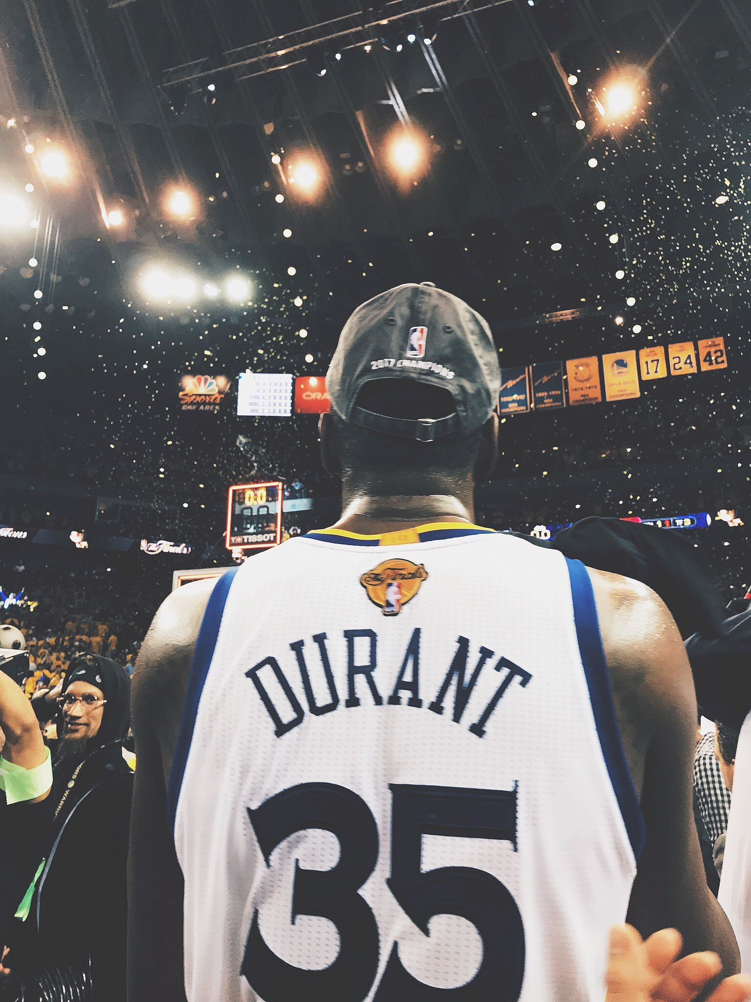 Kevin Durant NBA Champion Golden State Warriors Nike
