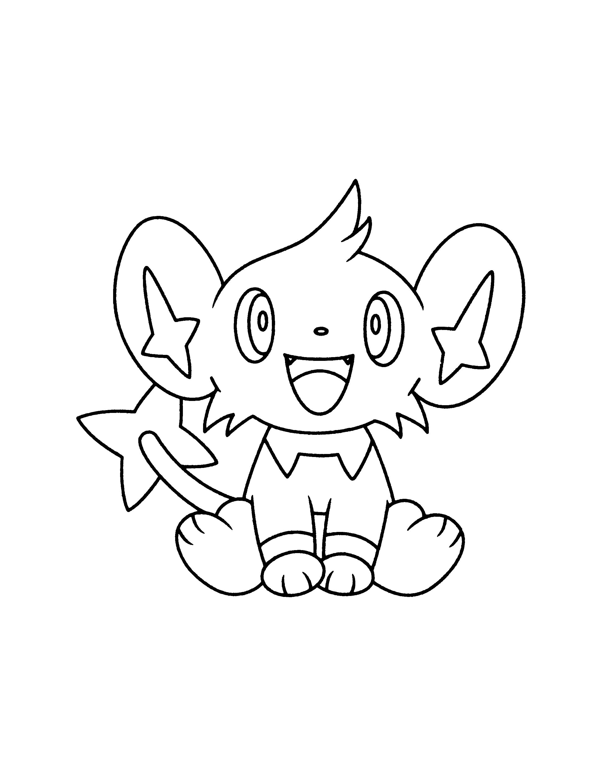 Pokemon Luxio Coloring Pages Pokemon Coloring Pages Pokemon
