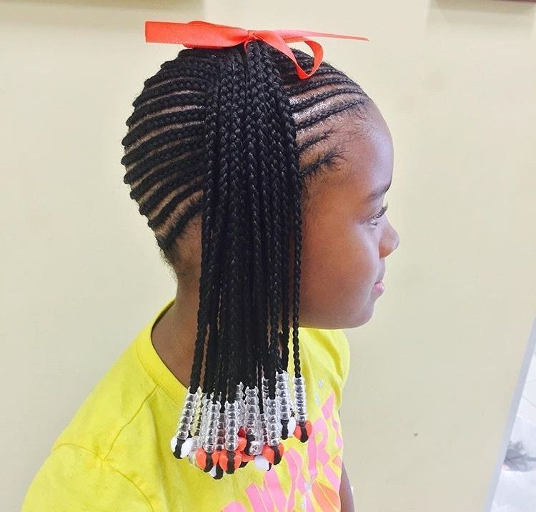 Children S Braids Black Hairstyles Children S Braids Black Hairstyles Braids Hair Styles Kids Braided Hairstyles Braids For Black Hair