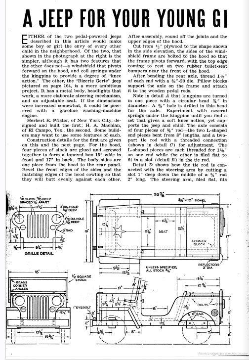 wooden balance bike plans pdf