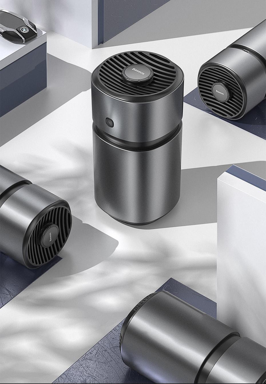 Baseus Car Air Freshener Diffuser Auto Perfume With Fan Aromatherapy Formaldehyde Air Cleaner Flavoring For Car Ai In 2020 Air Purifier Design Air Purifier Air Cleaner