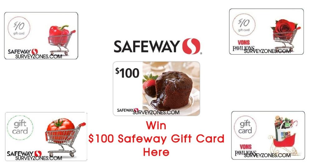 Safeway Survey Www Safewaysurvey Net Win 100 Safeway Gift Card Surveys Gift Card Sweepstakes Winner