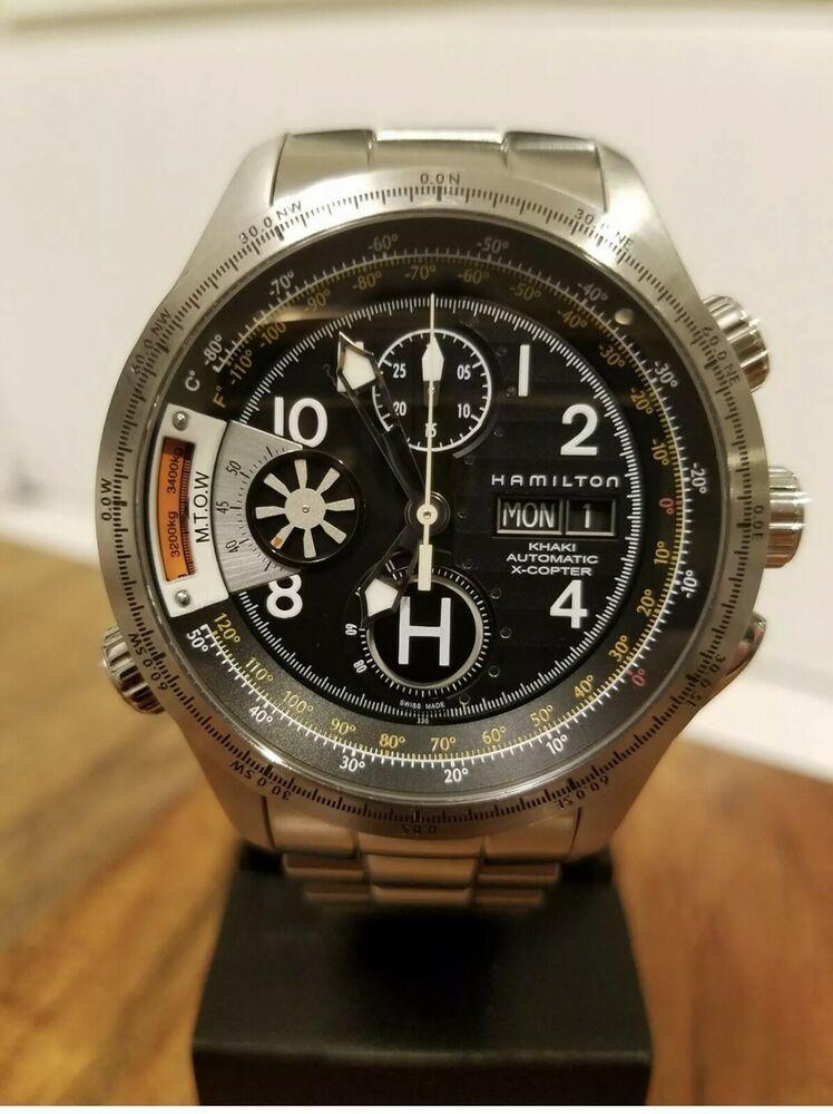 Hamilton Khaki XCopter Auto Chronograph Aviation Watch