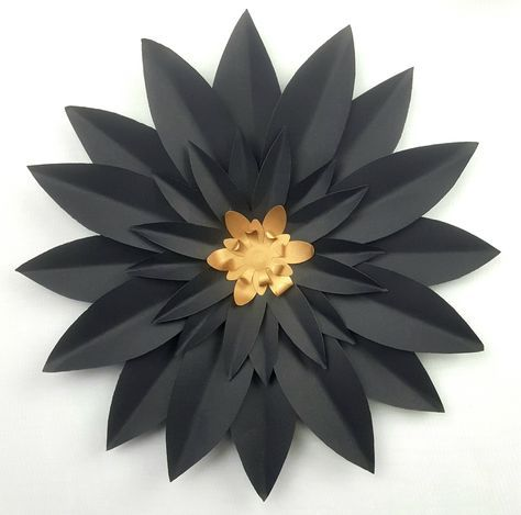 This is a beautiful individual 30 cm 12 inch diameter handmade discounted handmade paper flower 12 inch mightylinksfo