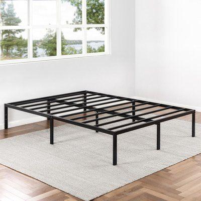 Symple Stuff Abbey Bed Frame Metal Platform Bed Bed Frame Bed