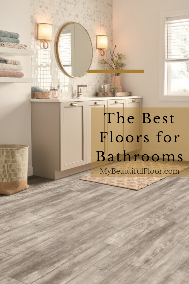 Best Floors For Bathrooms Flooroftheday Ihavethisthingwithfloors Floorlove Hom Best Bathroom Flooring Waterproof Bathroom Flooring Vinyl Flooring Bathroom