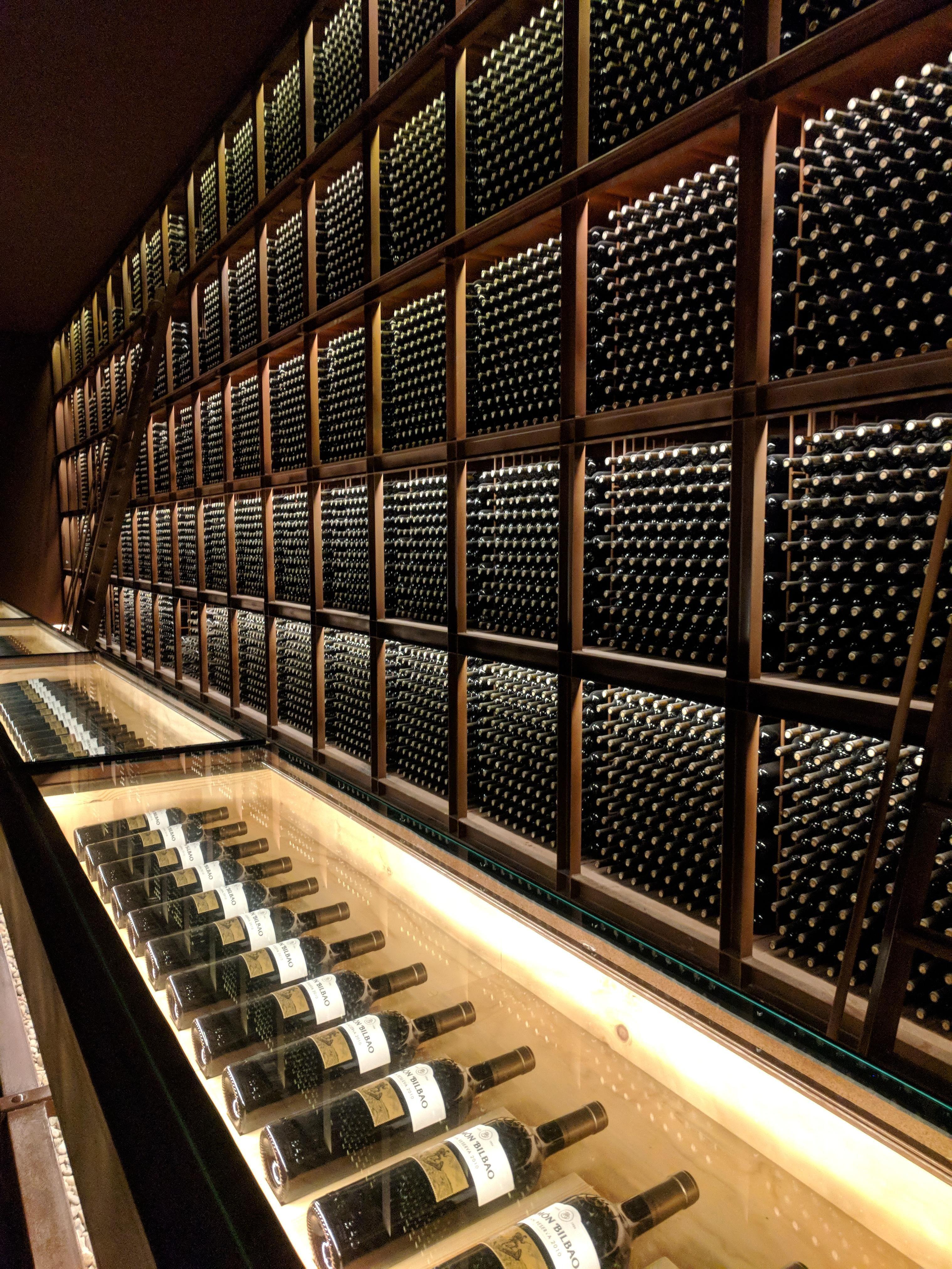 Itap Of The Wine Cellar Of A Vinyard In Rioja