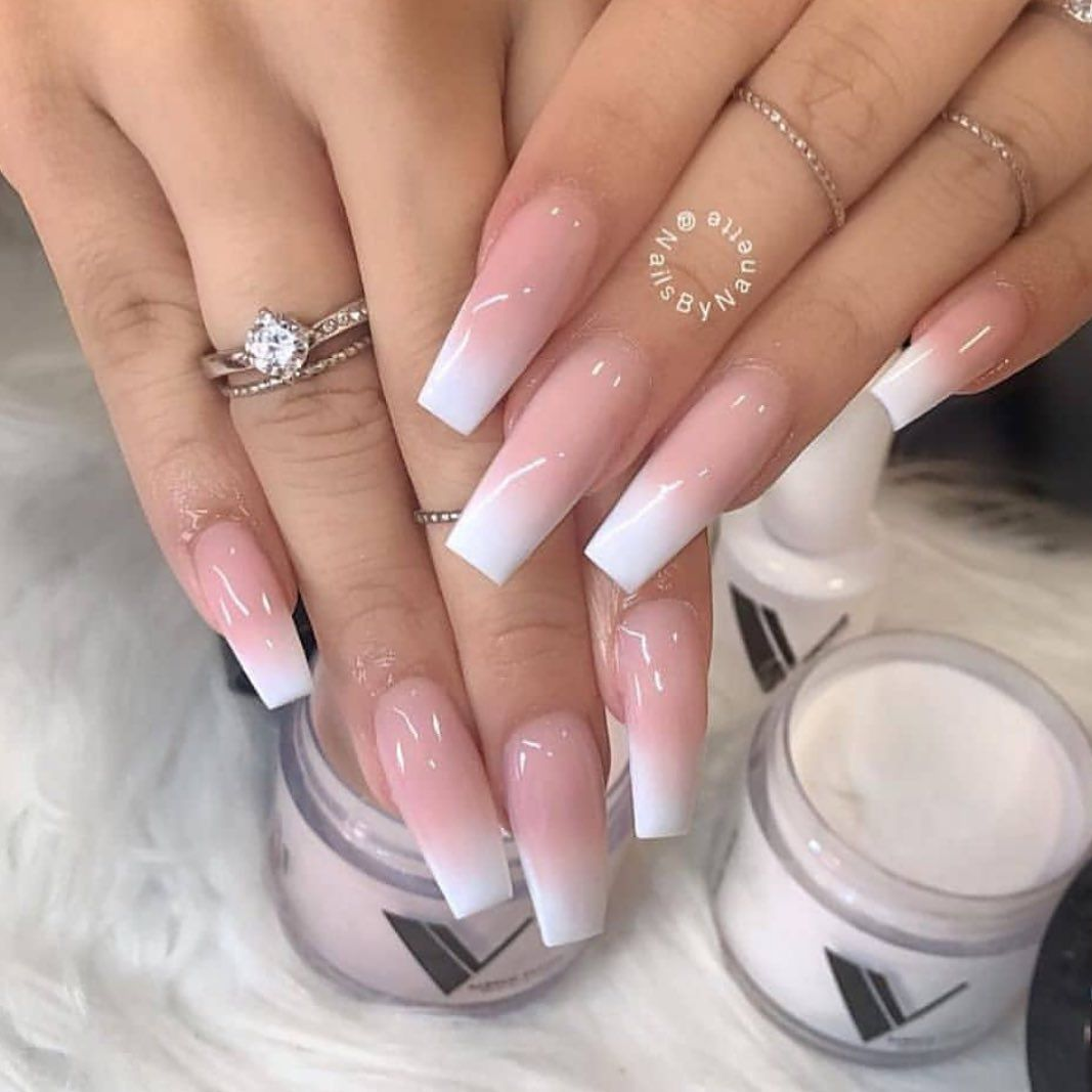 Pin by Ann on face & hair & nails in 2020 Ombre nail