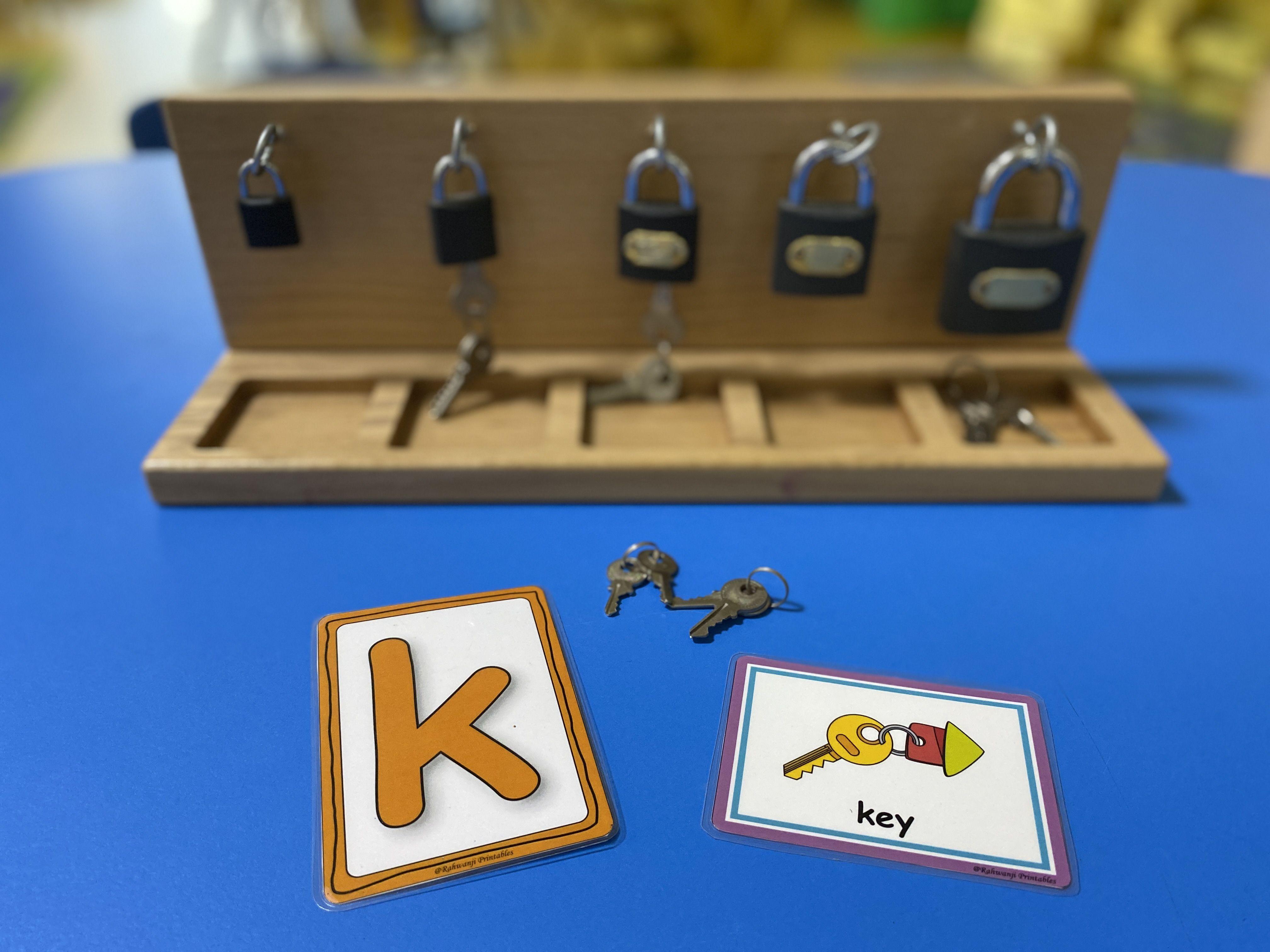 Keys Finger Gym Activity In