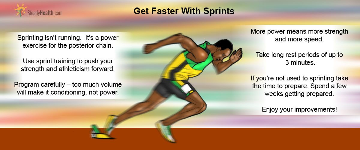 Get Faster With Sprints Sprint Workout How To Run Faster