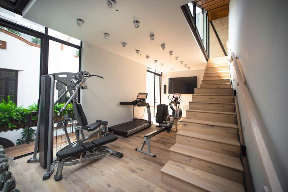 Ideas im genes y decoraci n de hogares en casa moderno y estilo - Decoracion gimnasio ...
