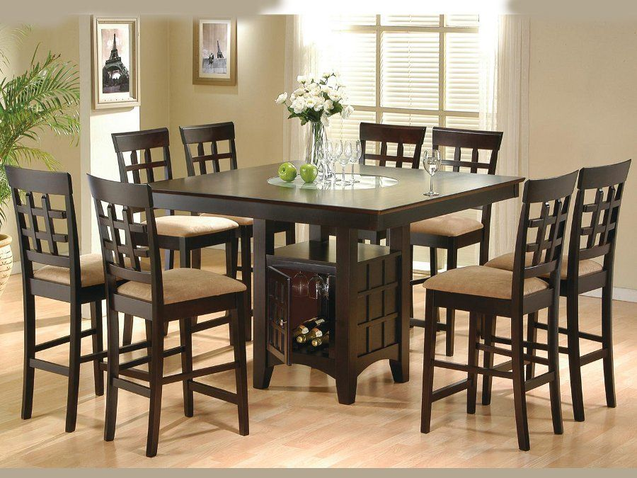 Included Pieces & Dimensions Dining Table 52 X 52 X 36 6 Side Unique 36 Dining Room Table Inspiration Design