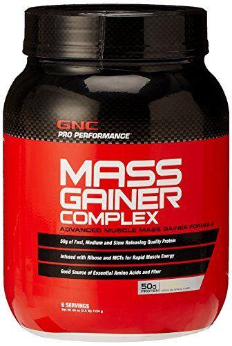 Dietary Supplement NEW Advanced Muscle Mass Gainer Formula ...