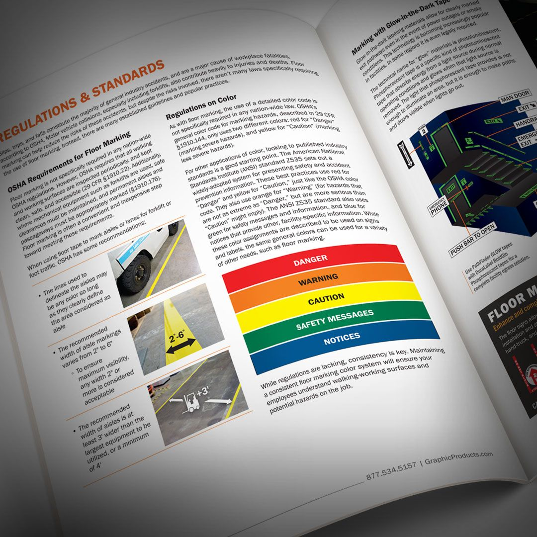 Get an edge on safety. Our free Floor Marking guide