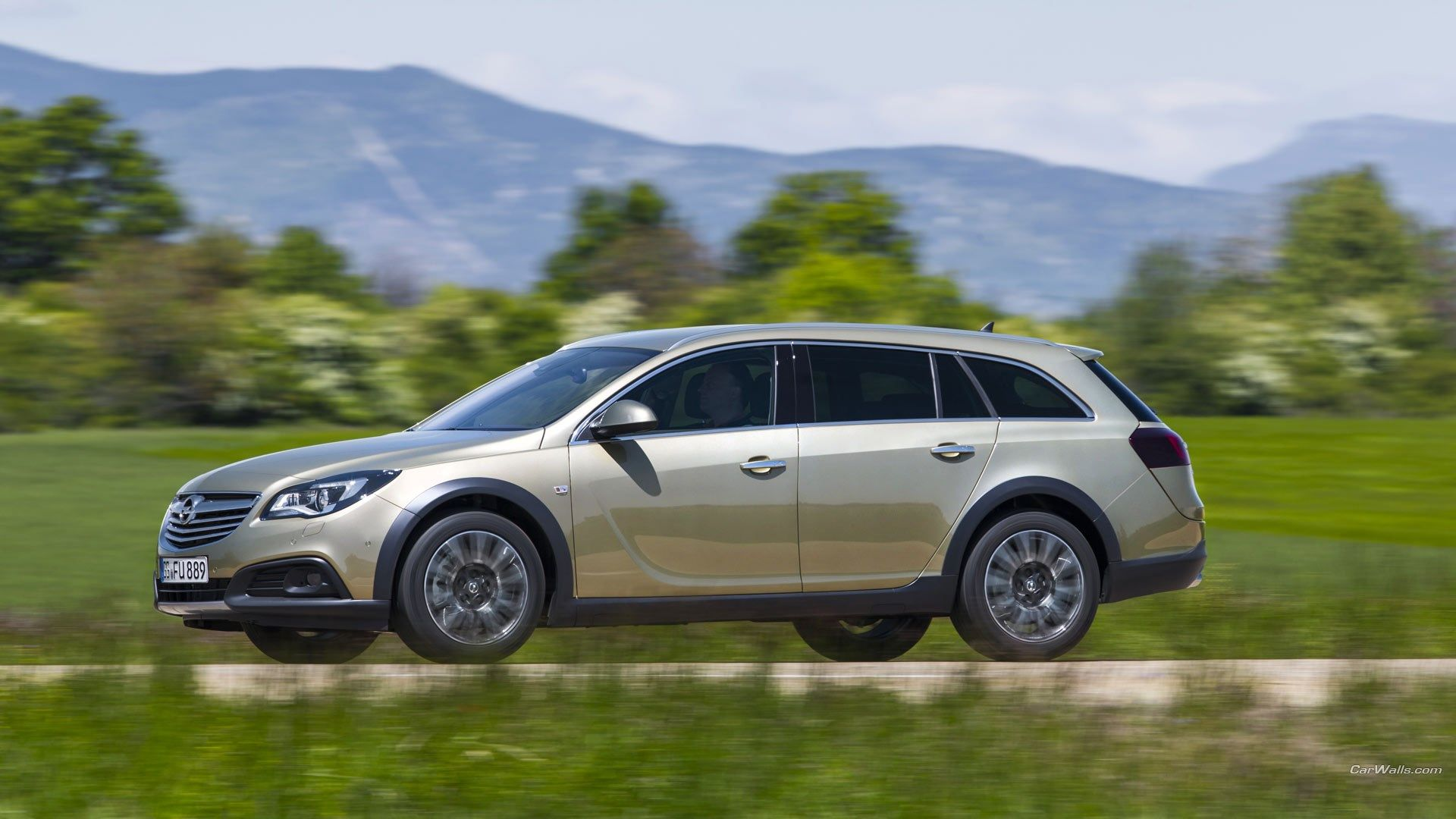 Ceylon Ross 2014 opel insignia country tourer image for