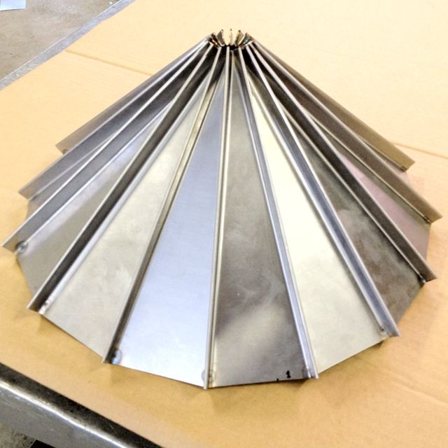 Standing Seam Miniature Silo Roof Metal Roof Copper Roof Metal Panels