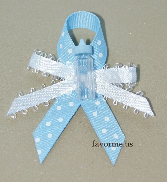 Measures 25 X 20 Inches Baby Bottle Boy Baby Shower Guest Pin