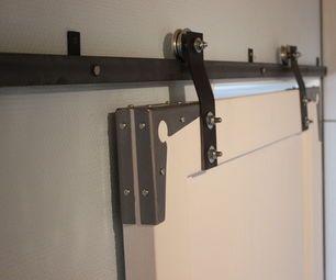 Industrial Style Slide Door Kitchen Doors Living Room
