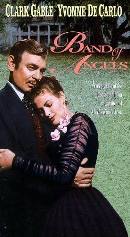 BAND OF ANGELS (1957) - Clark Gable - Yvonne De Carlo - Directed by Raoul Walsh - Warner Bros. - VHS Cover Art.