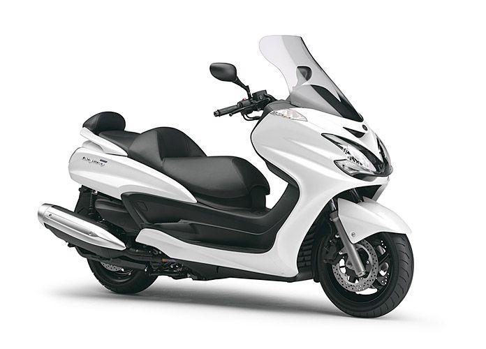 Official Photos Of Yamaha Grand Majesty 400 Yamaha Scooter