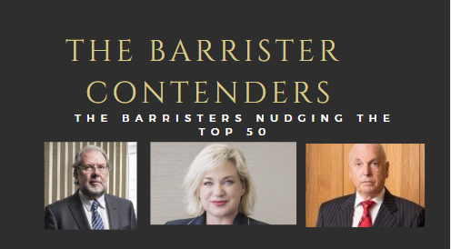 The Top Barristers Nudging The Lawfuel Power List Barrister