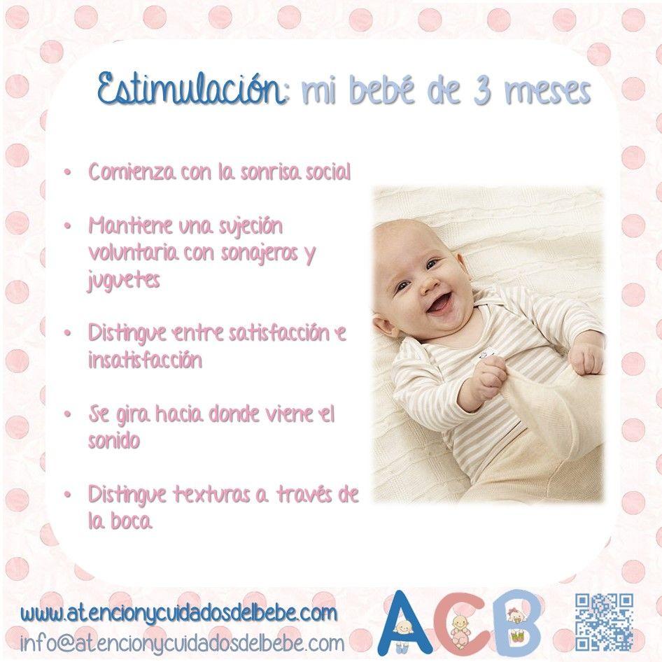 Estimulaci n para mi beb de 3 meses atencionycuidadosdelbebe estimulacion estimulaci n - Bebes de tres meses ...