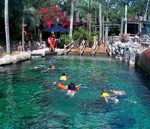 Typhoon Lagoon Water Park at Walt Disney World, Florida: Reef Madness