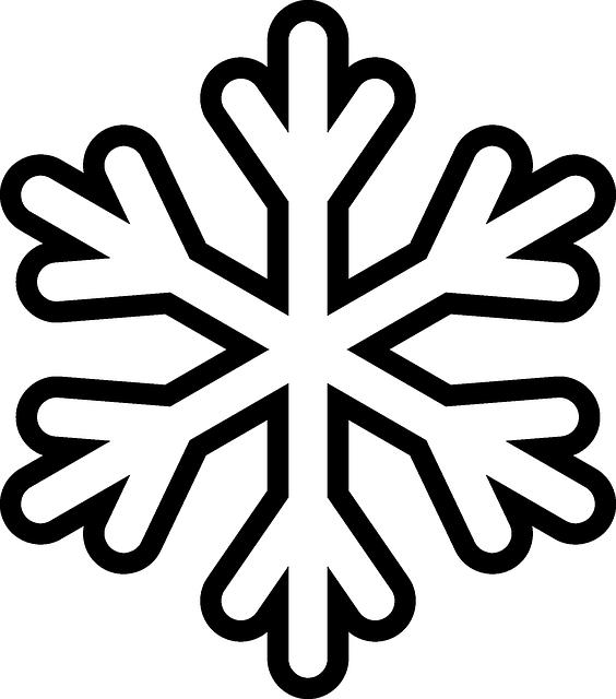 Imagen gratis en Pixabay - Copo De Nieve, Cristal, Simetría ...