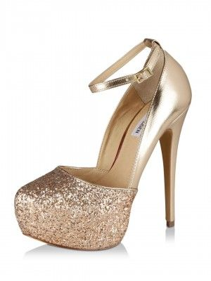 Steve Madden Glitter Platform Pumps purchase from koovs.com