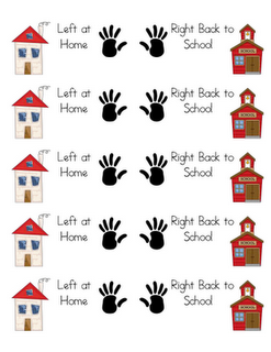 Peachy Take Home Folder Labels Beginning Of The Year School Home Interior And Landscaping Ymoonbapapsignezvosmurscom