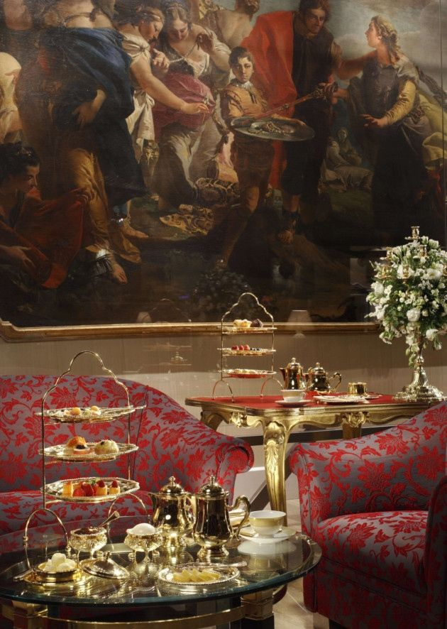 Tea with Tiepolo, Cavalieri Hotel Rome (With images ...