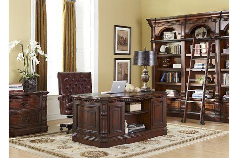 Van Buren Executive Desk | Havertys · Van BurenOffice DesksHome ...