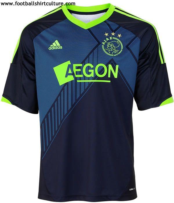 c533a1a24c4 Ajax Away Kit for Eredivisie 2012/2013 // NICE!! Color-portion ...