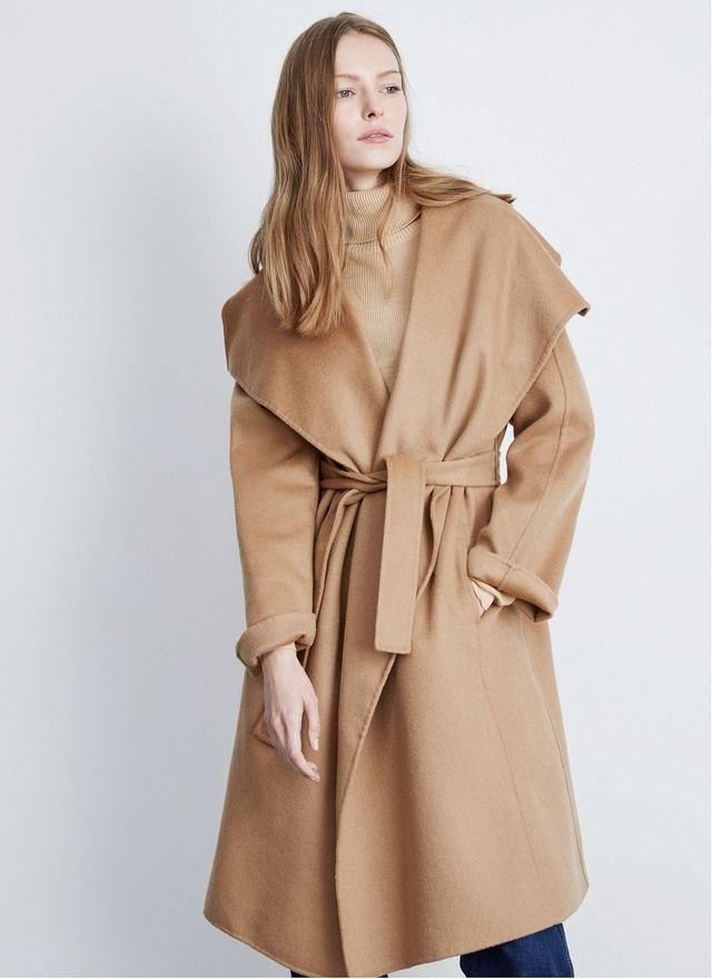 Tipos de abrigos largos para mujer
