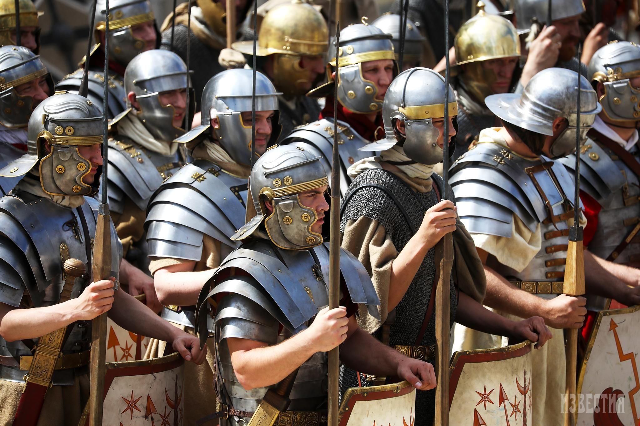 фото римских воинов