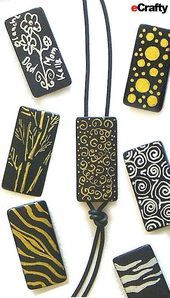 5 Quick Bamboo Domino Tile Craft  Jewelry DIYs