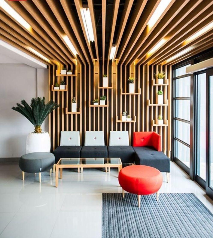 Aesthetic False Ceiling Ideas Gracing Beautiful Decor Of Modern Office Designs Modern Office Modern Office Design False Ceiling Design Office Interior Design