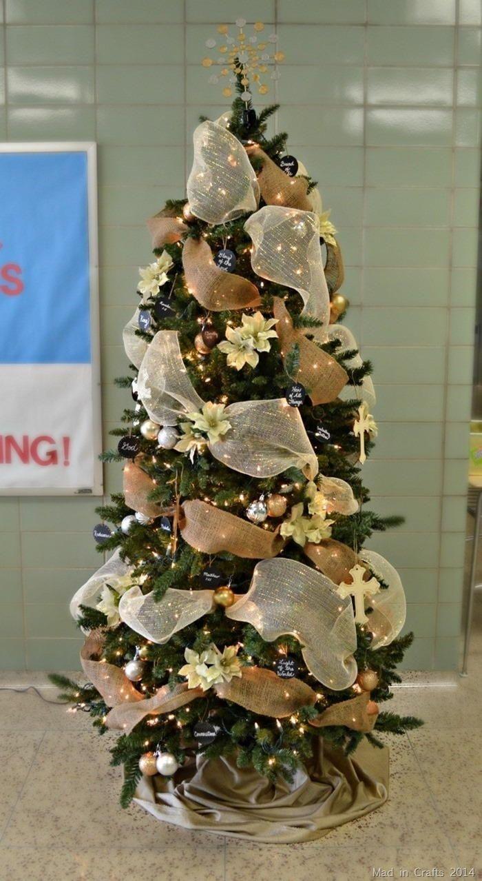 Names of Christ Christmas Tree Decorating Idea Mini