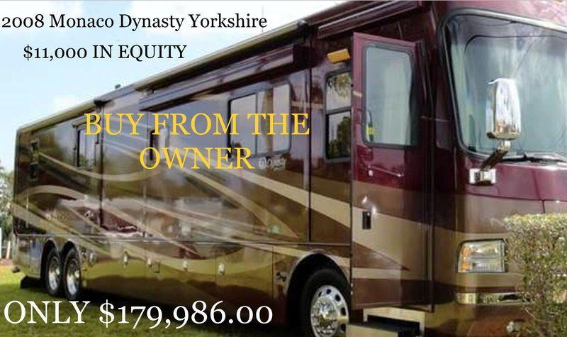 2008 Monaco Dynasty Yorkshire For Sale El Paso Tx Rvt Com