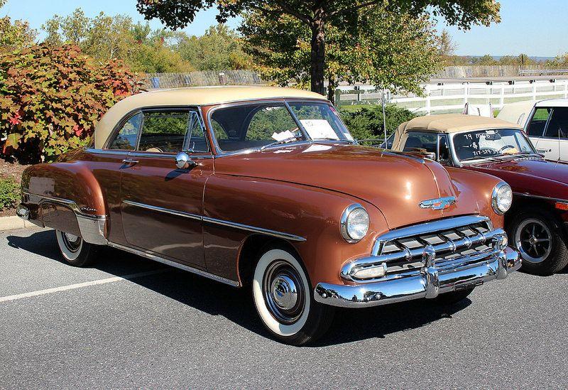 1952 Chevrolet Deluxe Bel Air Hardtop Classic Car Garage Chevrolet Vintage Muscle Cars