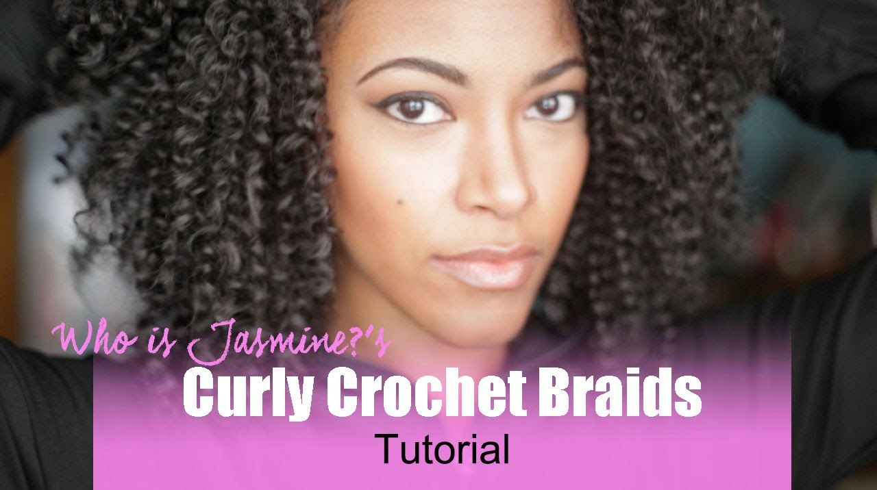 Curly Crochet Braids Tutorial Using Isis Caribbean Bohemian Braiding Hair Soft