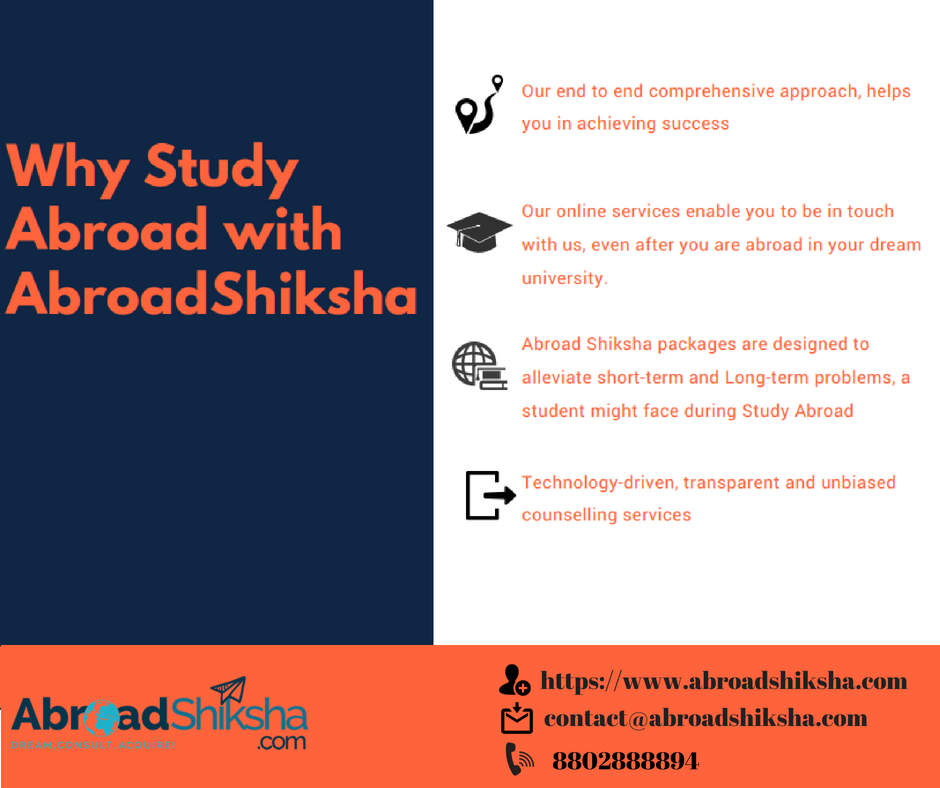 StudyAbroad with Abroad Shiksha ➡️360 degree approach for Study