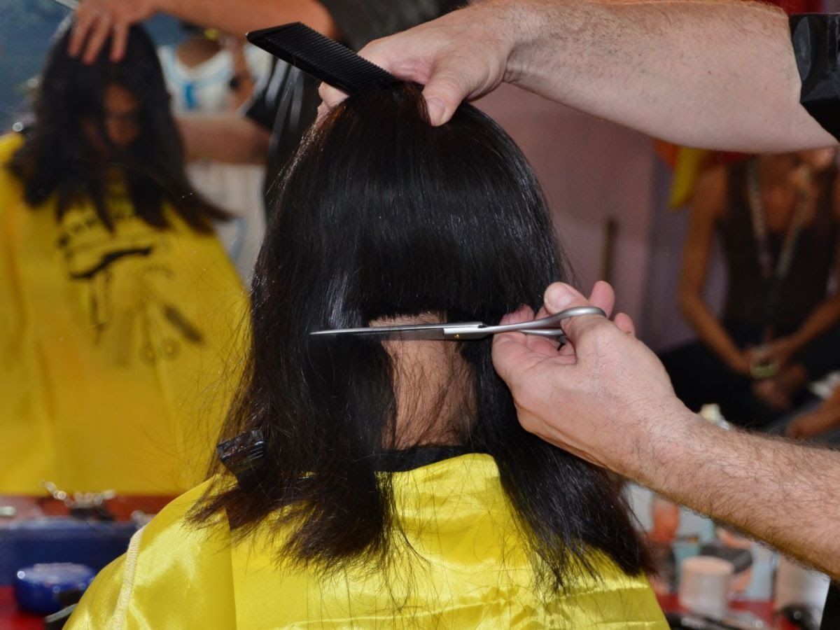 Extreme Short Hair Cut Girl 16114 Makeovers 4 Pinterest