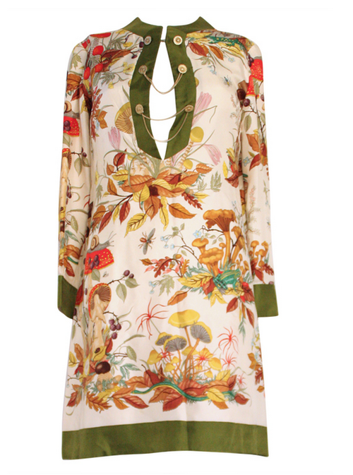 18cb5ff0 1970s Gucci Accornero Silk Tunic Dress | Best of Vintage | Dresses ...