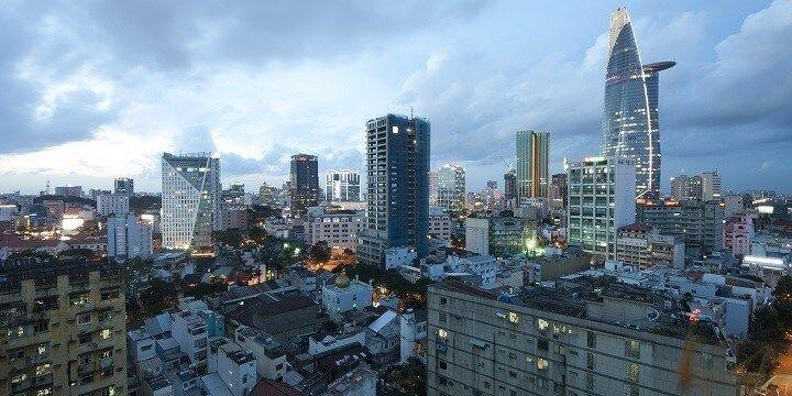 Bitexo Financial Tower, Ho Chi Minh City, Vietnam, Asia