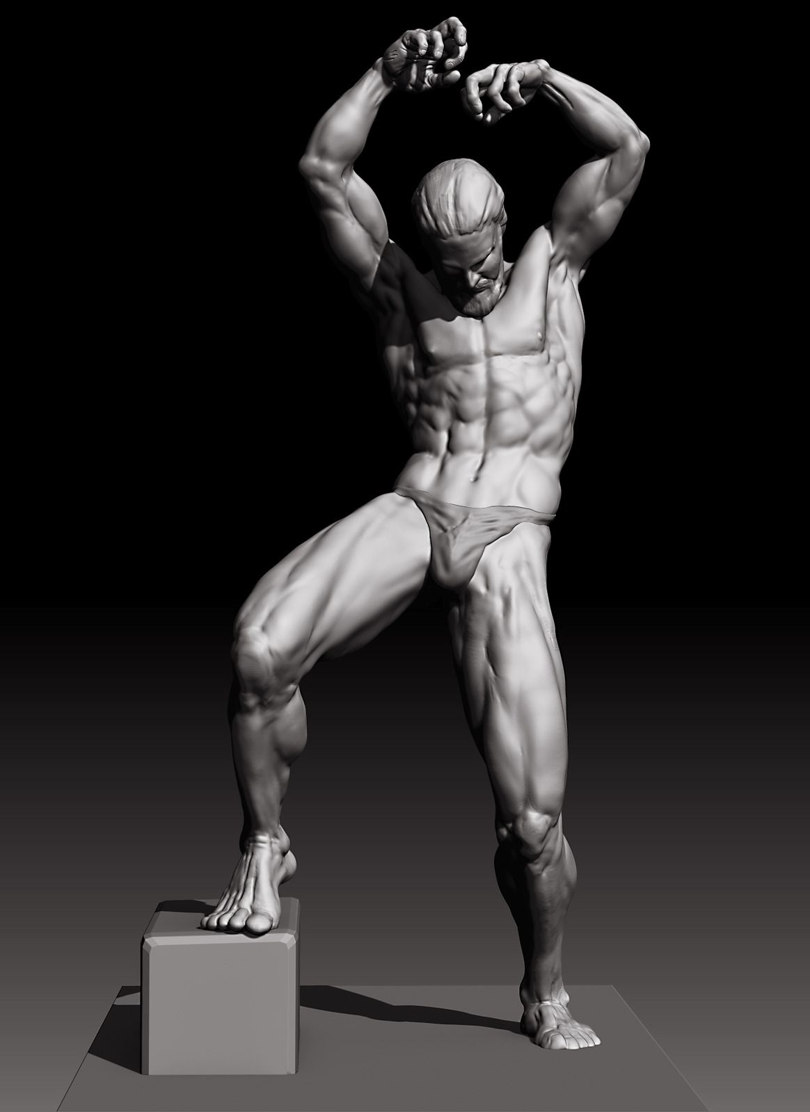 Some Zbrush and Max Work - Page 34 | Male Anatomy | Pinterest ...