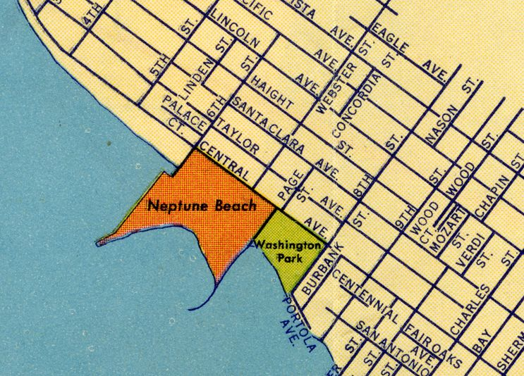 Neptune Beach on Alameda, California Map 1939 | alameda ... on cities in alameda county california, map of alameda island ca, map of unincorporated alameda county, map of phoenix arizona, map of port orchard washington, map of mcminnville oregon, bad neighborhoods in oakland california, map of sheffield uk, map of auburn washington, map of ormond beach florida, map of venice florida, map of westerville ohio, alameda island california, map of beaverton oregon, map of gresham oregon, map of orlando florida, map of bend oregon, map of king of prussia pennsylvania, map of moab utah, map of tucson arizona,