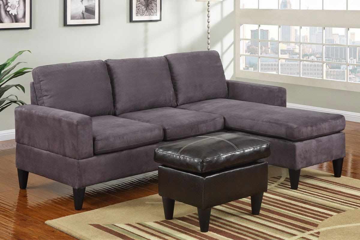 Cly Gray Sectional Sofa 1263 Ottoman Brown Futon Bed