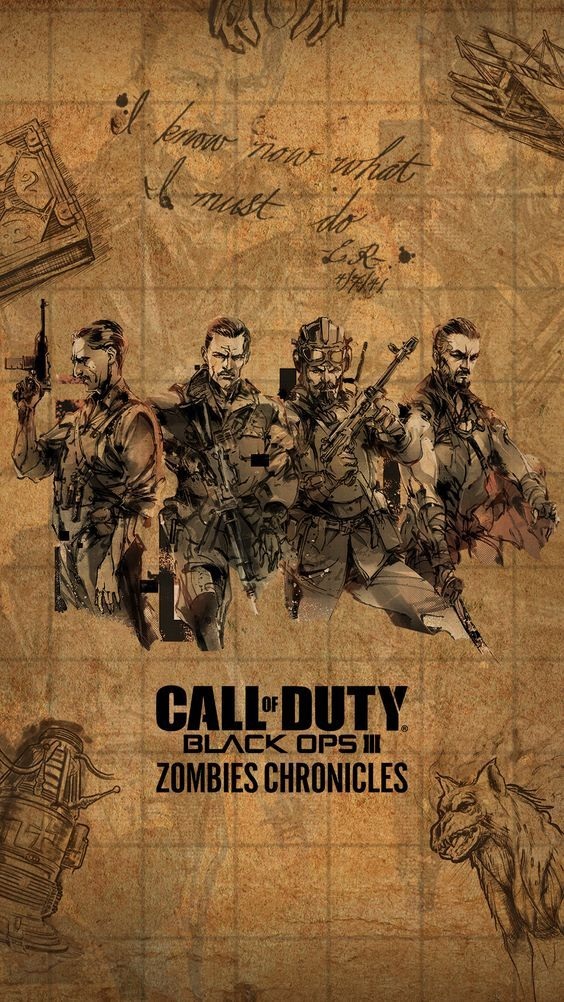 Zombies Chronicles Phone Wallpapers 1080 X 1920 Call Of Duty Call Of Duty Zombies Call Of Duty Black Ops 3